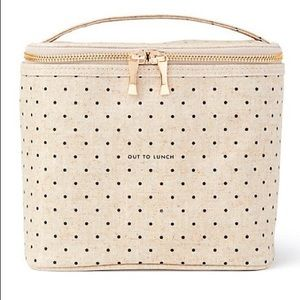 NWT KATE SPADE LUNCH BOX OUT TO LUNCH TOTE